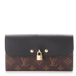 LOUIS VUITTON Monogram Venus Wallet Noir Black